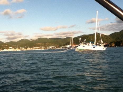 17 - Ground swells in Marigot Bay