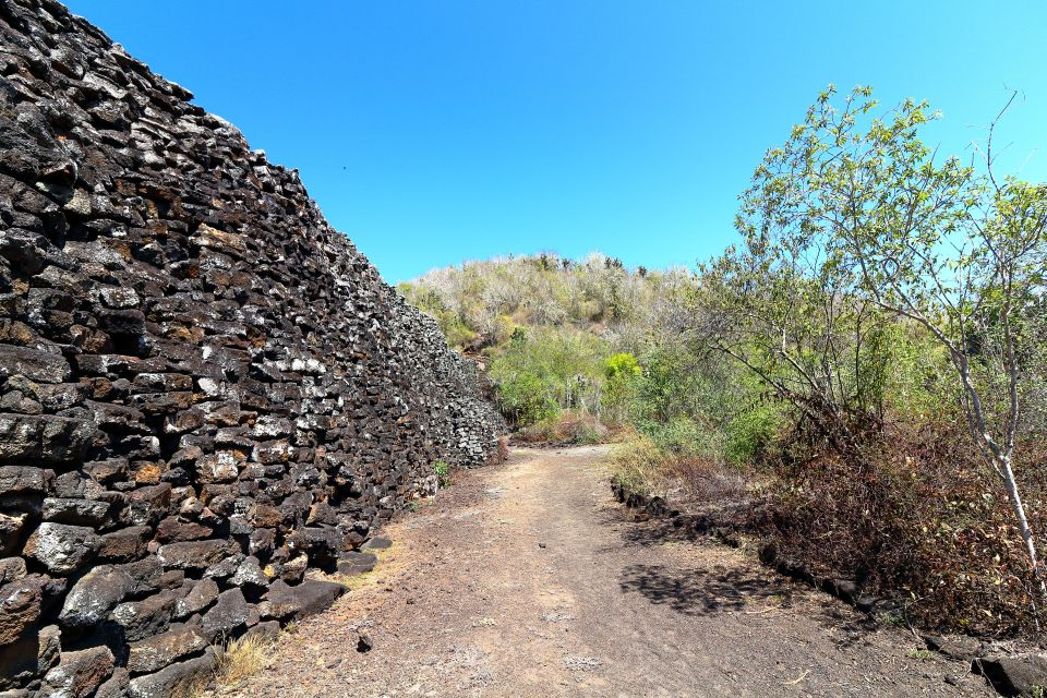 The wall of tears - the final destination of our bike ride. The wall was built by prisoners in the penal colony during the mid 1900s. It's been left as a reminder of the horrible suffering endured in the past. Many of the people now in Isabela are descendants from the penal colony.