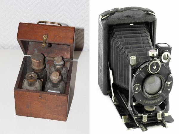 Le Photographe militaire dans les tranches de la guerre 1914 1918 appareil chambre noire photo