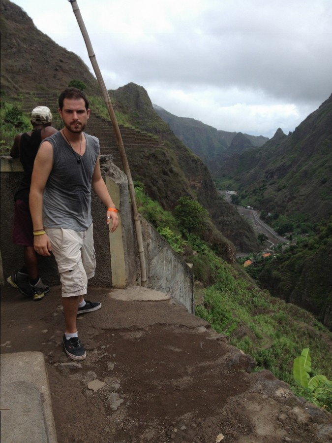 Little break after the effort - Santo Antão, Cape Verde