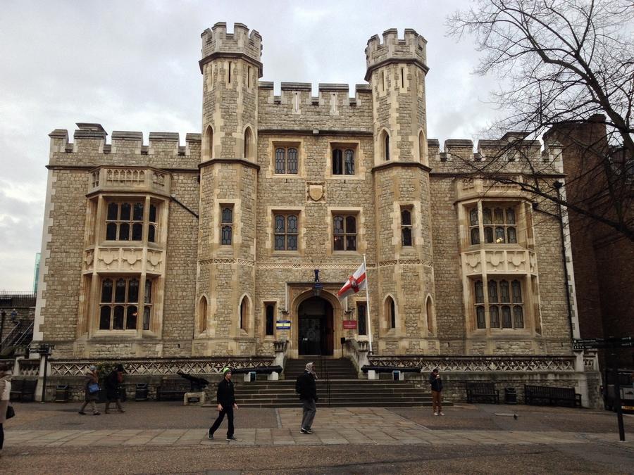 Bâtiment dans la Tour de Londres - Londres, Angleterre