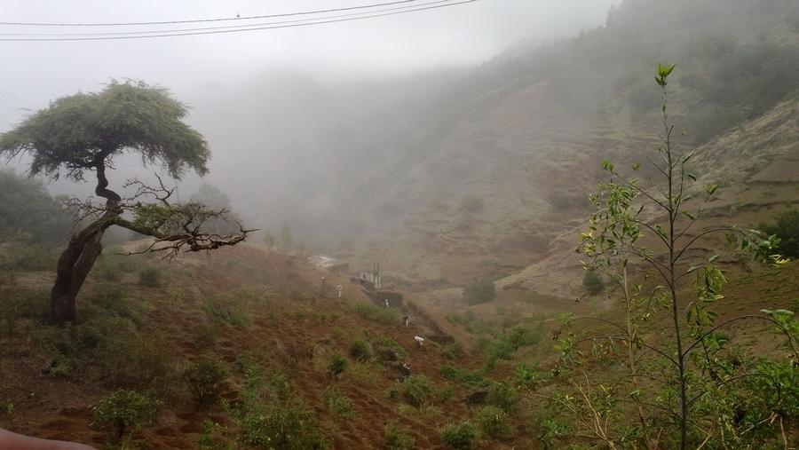 Cratère de Cova - Santo Antão, Cap-Vert
