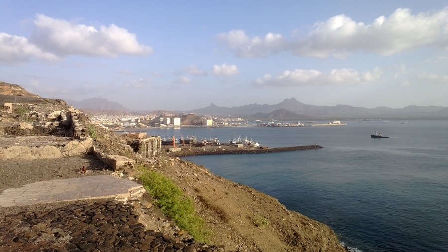 View from the Portuguese artillery in Mindelo - São Vicente, Cape Verde