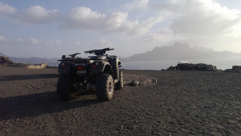 Quad - São Vicente, Cape Verde