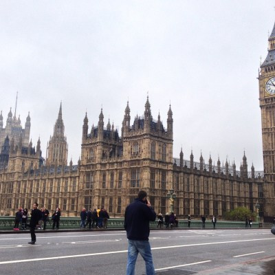 Big Ben and the House of Parliament - London, England