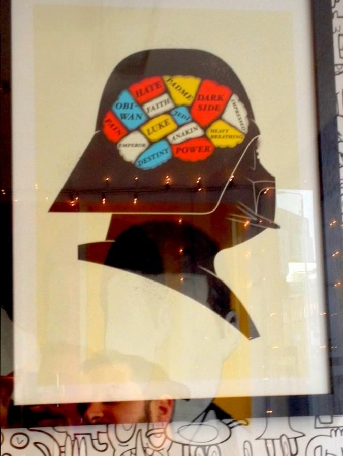 Cadre Dark Vador à GiftBox - Londres, Angleterre