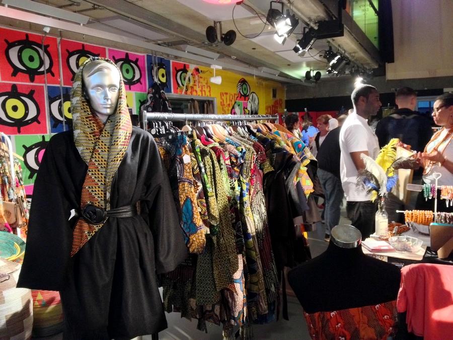 African market at Richmix - London, England