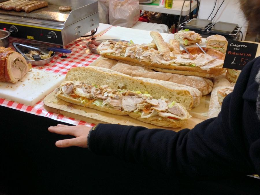 A huge sandwich ! - London, England