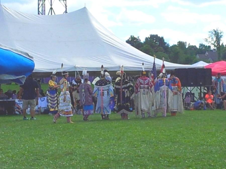 Akwesasne Pow wow dancers - Canada