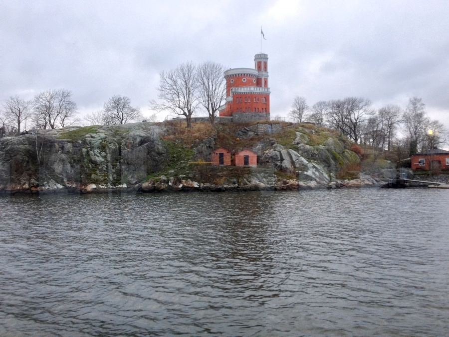 View from the Djurgarden ferry - Stockholm, Sweden