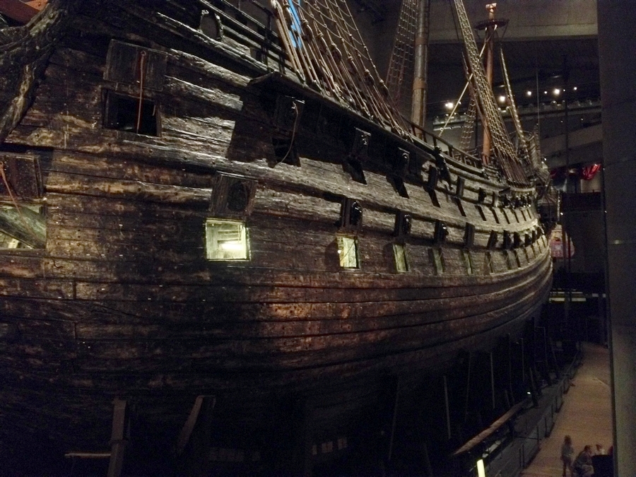 The Vasa - Vasa Museum, Stockholm, Sweden