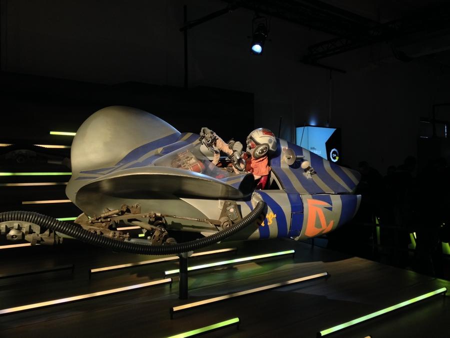 Le pod racer d'Anakin - Star Wars Identities, Lyon, France
