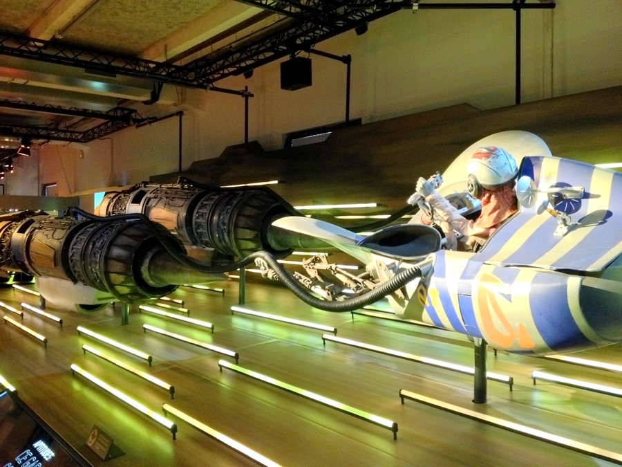 Le pod racer d'Anakin - Star Wars Identities, Lyon, France