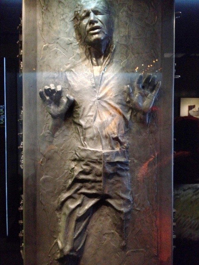 Han Solo cryogénisé - Star Wars Identities, Lyon, France