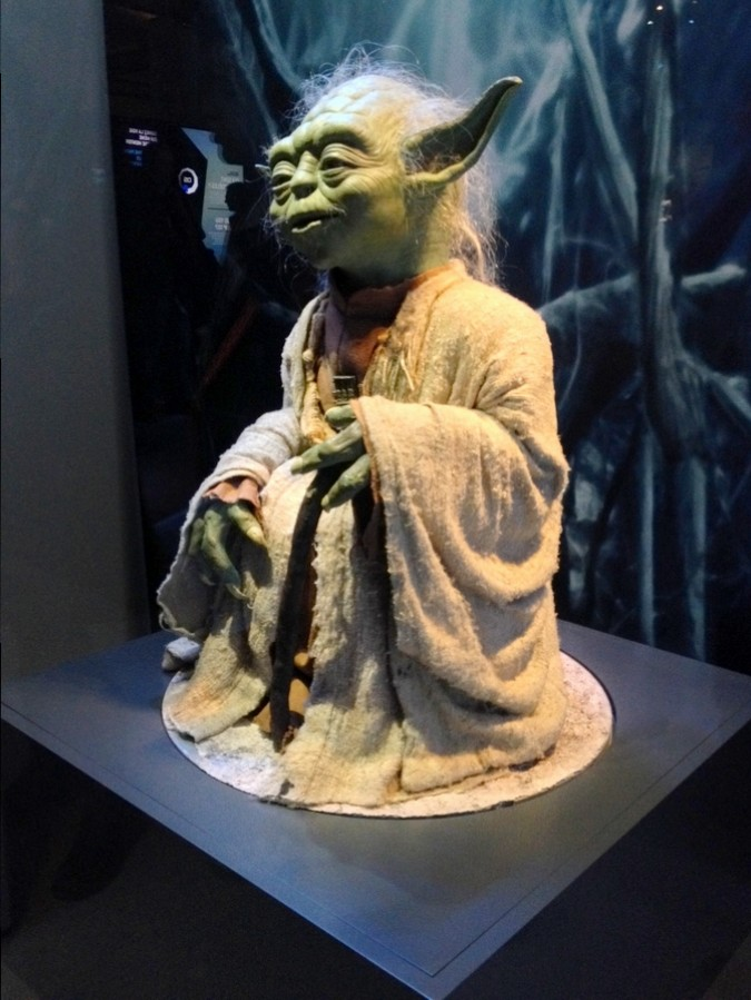 Yoda - Star Wars Identities, Lyon, France