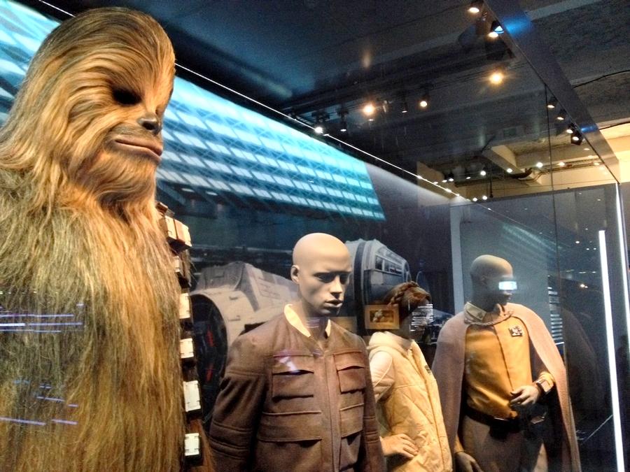 Chewbacca - Star Wars Identities, Lyon, France