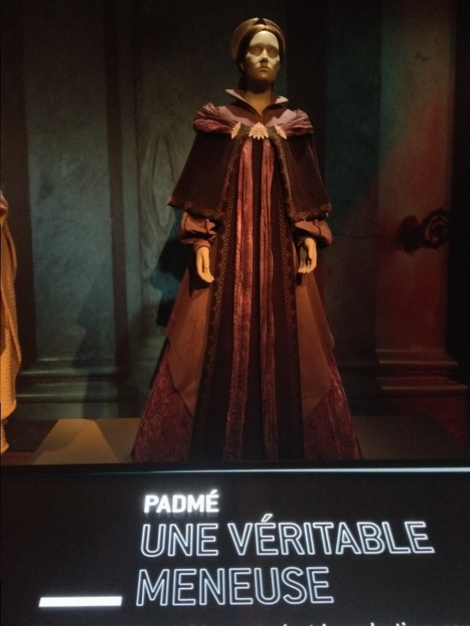 Costume de Padmé - Star Wars Identities, Lyon, France