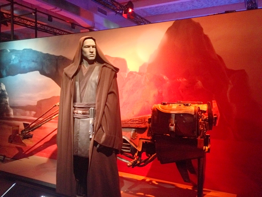 Costume d'Anakin - Star Wars Identities, Lyon, France