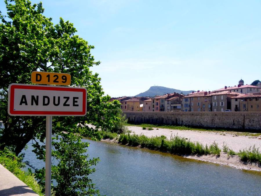 L'entrée d'Anduze - France