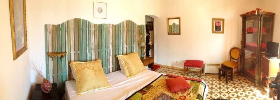 The Filetta room at the Villa Guidi - Pila- Canale, Corsica, France