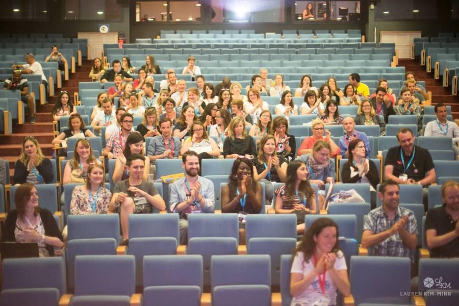 Pendant une conférence - Ajaccio, Corse