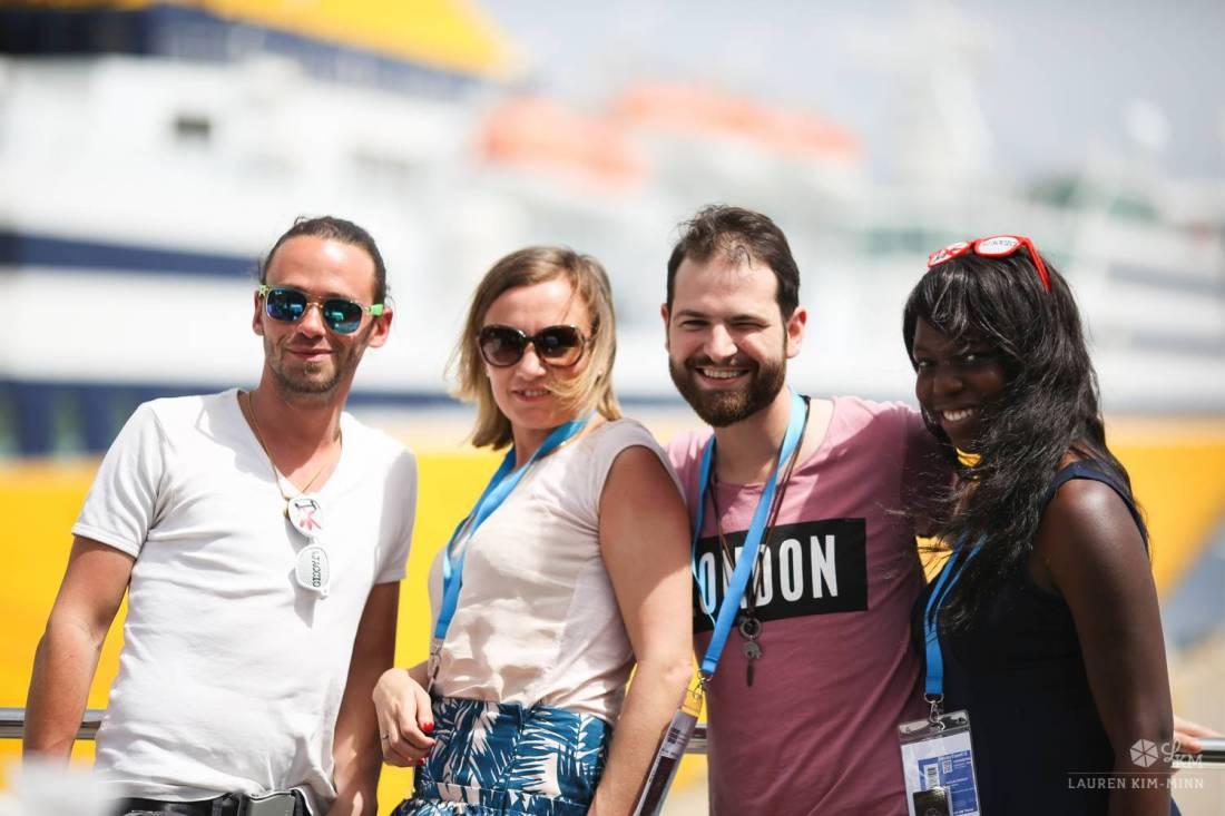 Arnaud, Marie, Séb and Nath - Ajaccio, Corsica