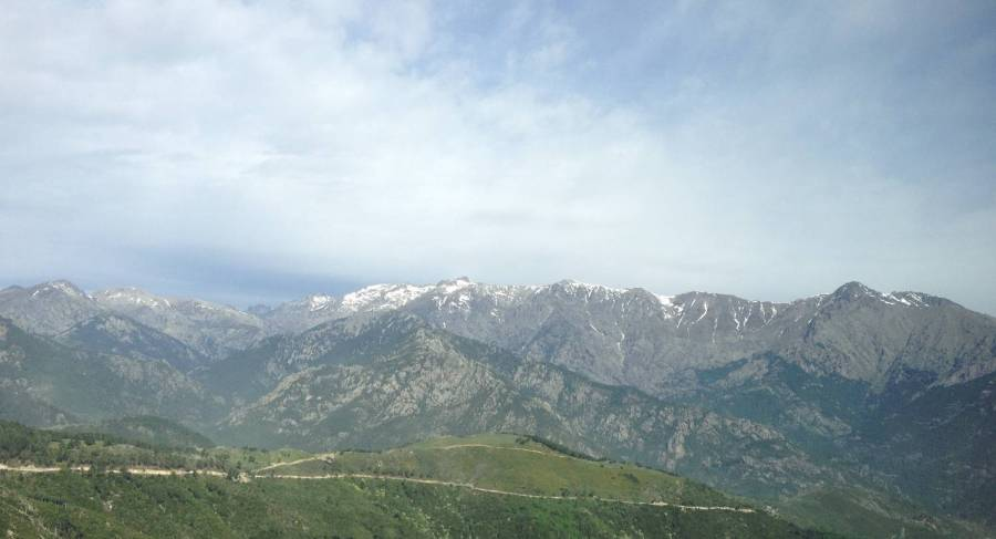 View on the mountains - Ghisoni, Corsica