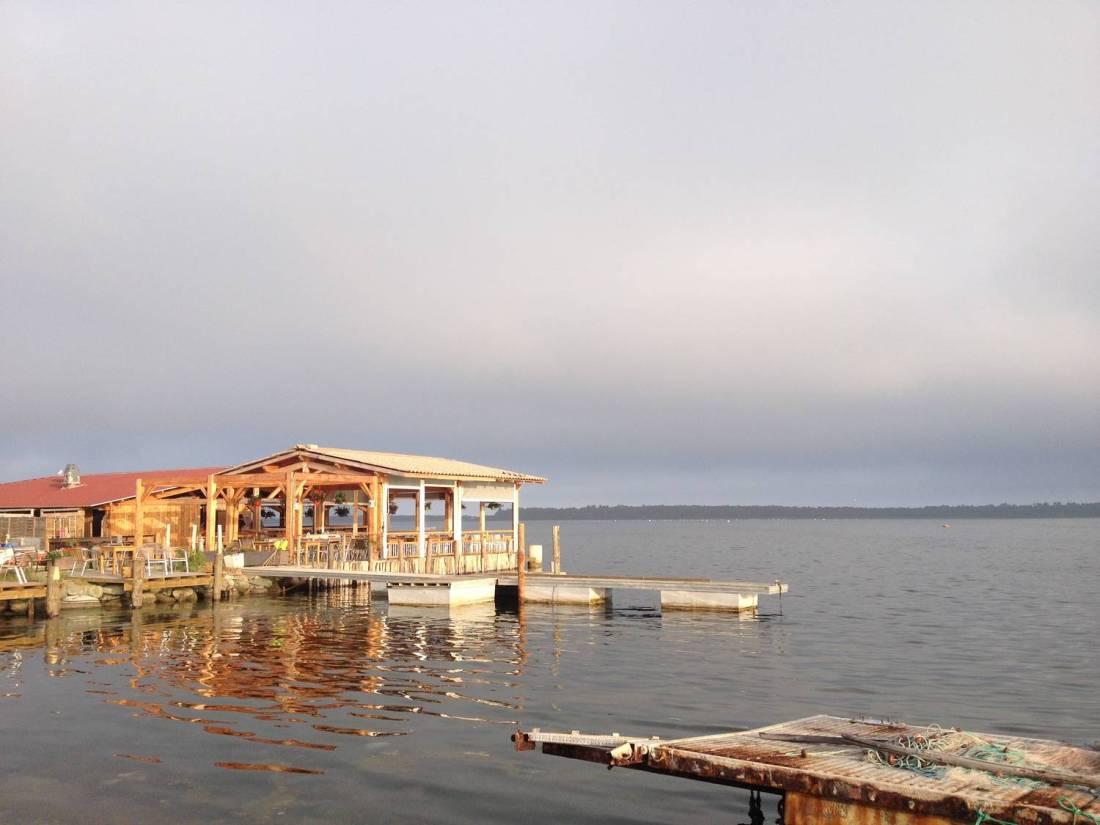 Urbinu pond restaurant - Corsica