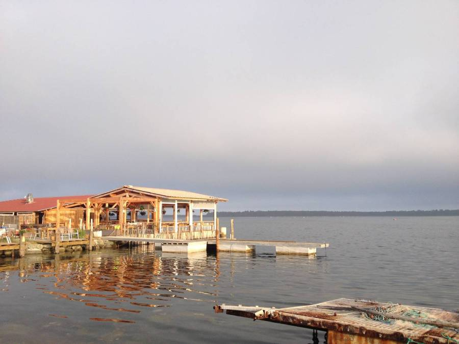 restaurant l'étang d'Urbinu - étang d'Urbinu, Corse