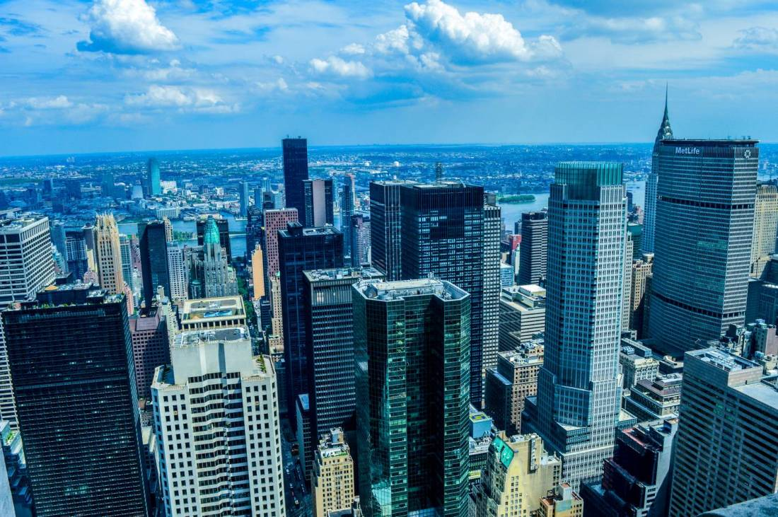 View over New York from the Top of the Rock - New York, United States