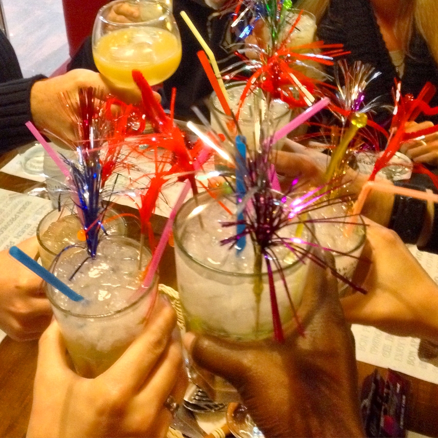 Cocktails with friends - Salou, Spain