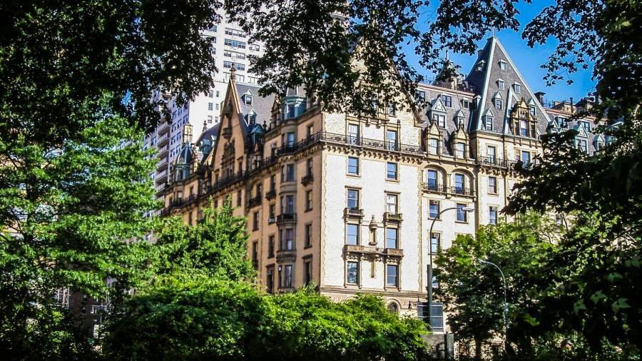 Dakota Building from Central Park - New York, United States