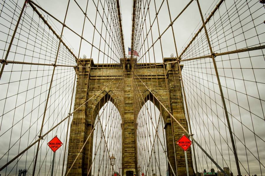 The Brooklyn Bridge - New York, USA