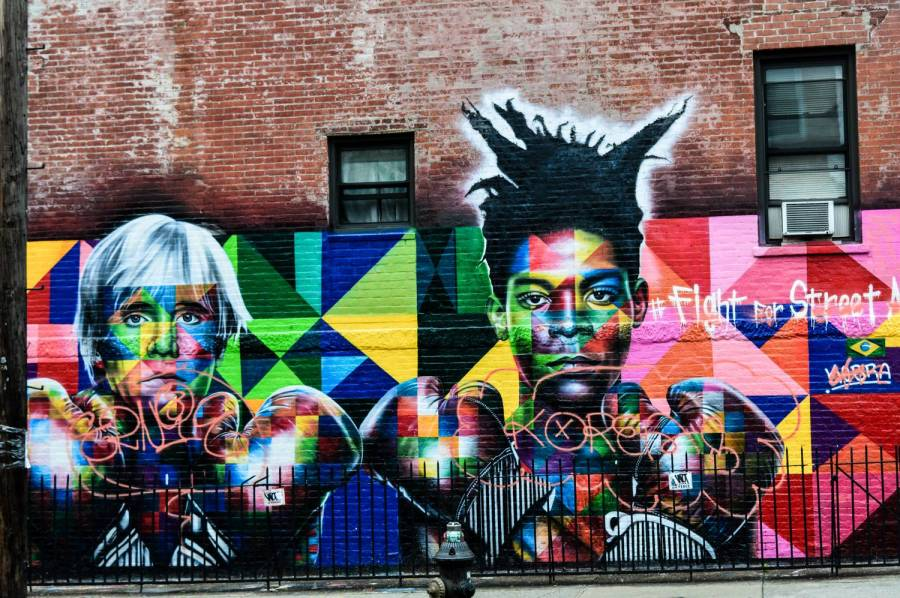 Street art in Greenpoint - New York, USA