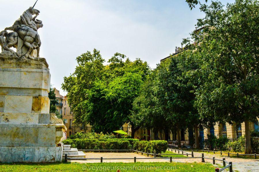 Place de la Canourgue - Montpellier, France