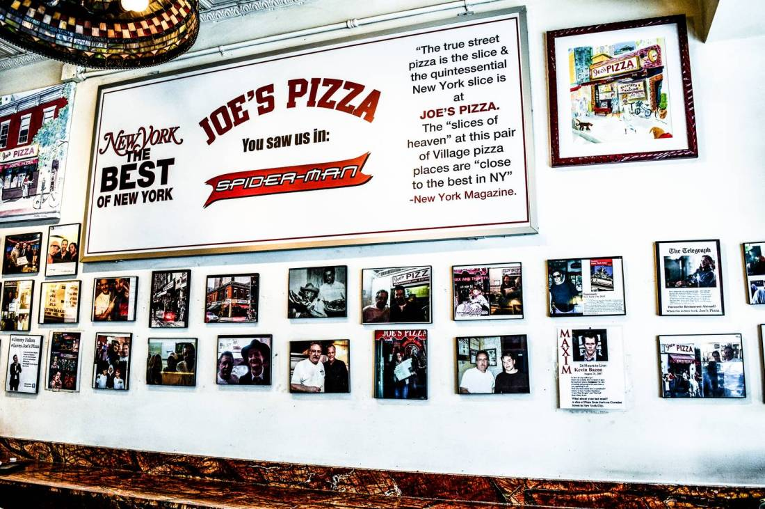 Joe's Pizza - New York City, USA