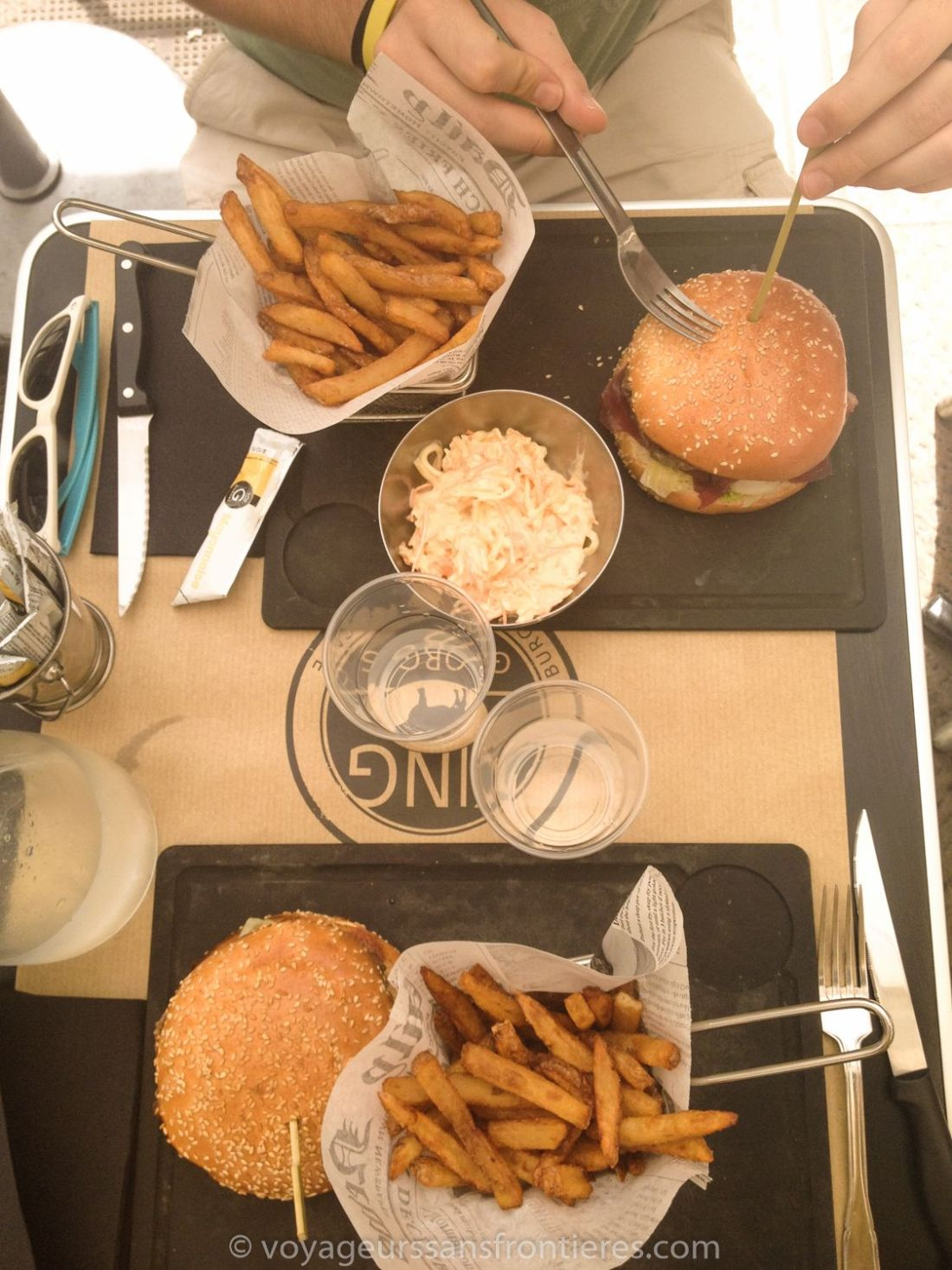 Burgers at King George - Montpellier, France