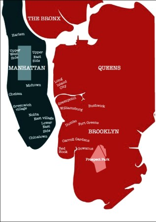The boroughs of New York City - Borderless Travelers