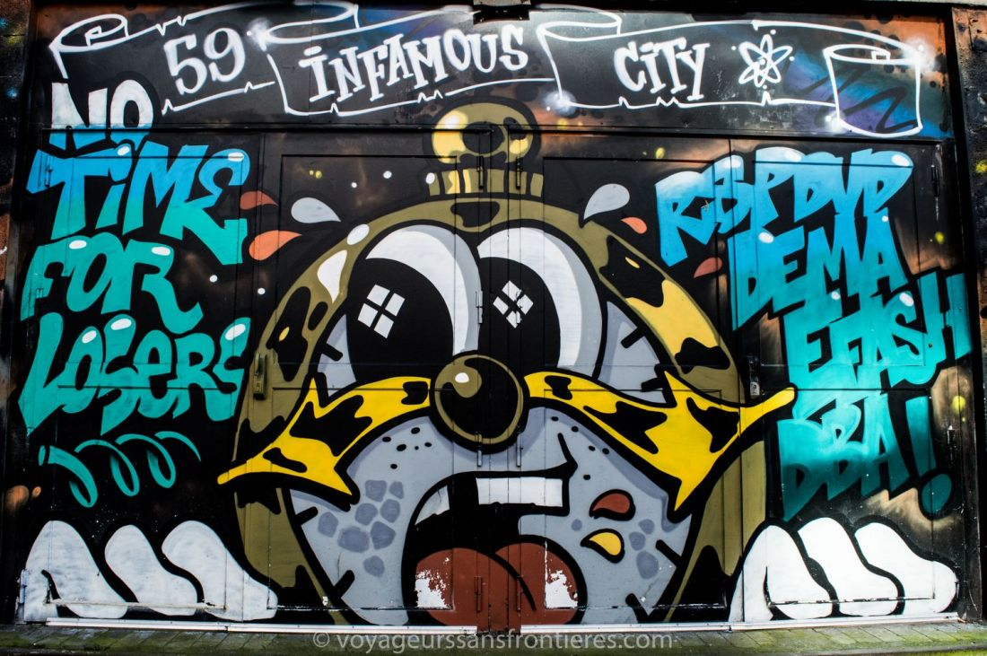 Street art piece - Lille, France