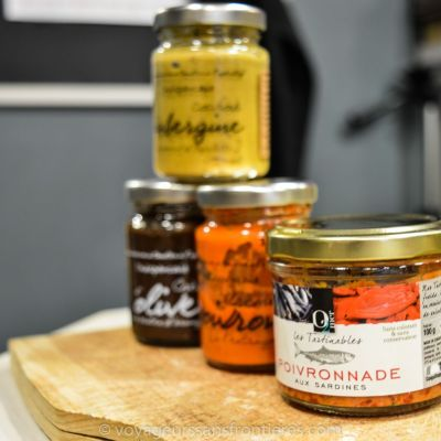 Spreads at Le Panier d'Aimé - Montpellier, France