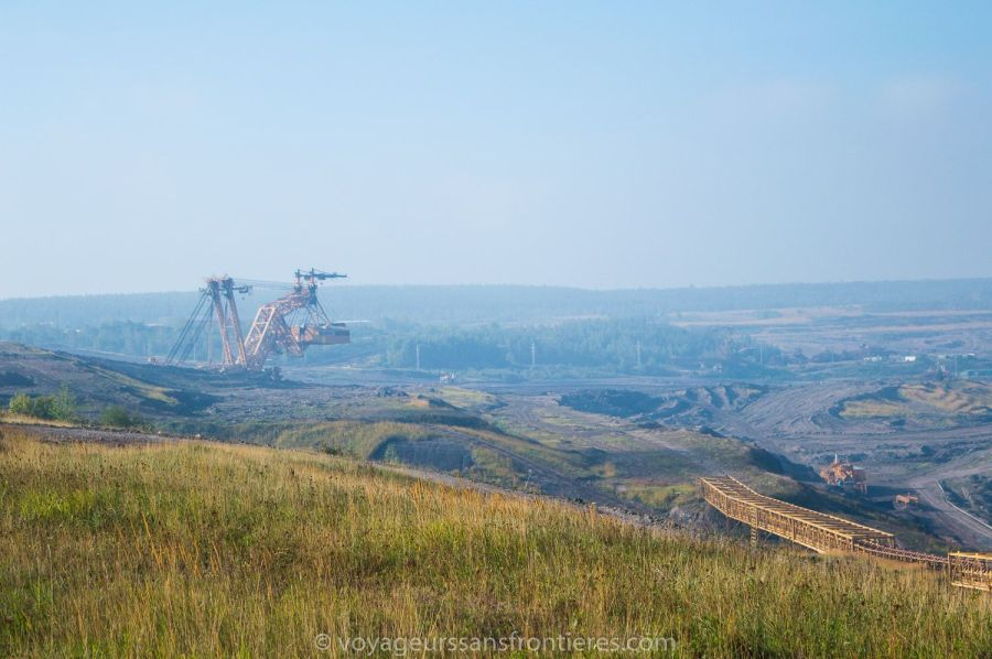 Coal mine in Most - Northwest Bohemia, Czech Republic
