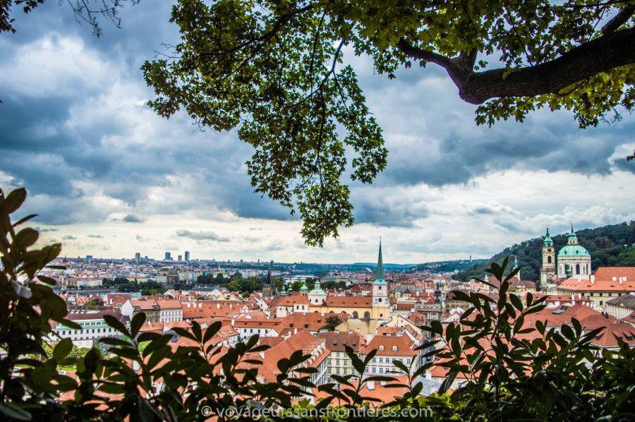 View on the city from Prague Castle - Prague, Czech Republic