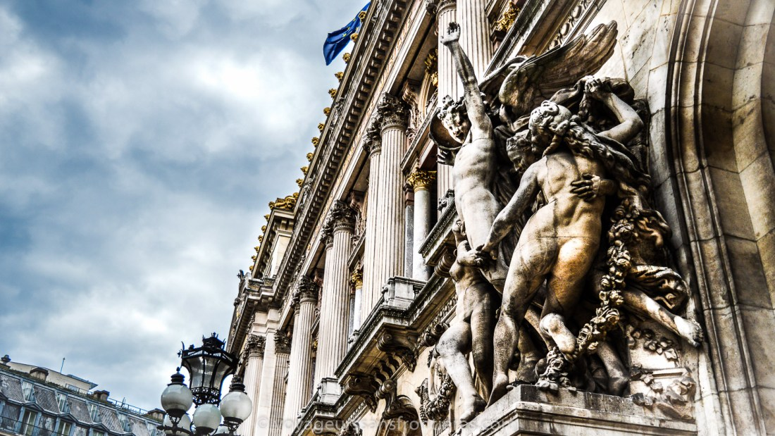 Opéra Garnier façade - Paris, France