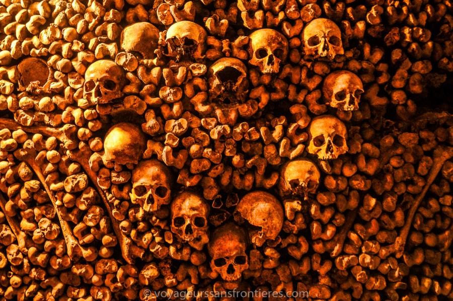 Heart of skull - Paris Catacombs, France
