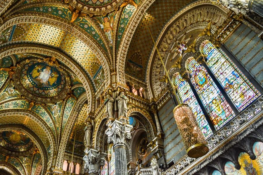 Basilique Notre-Dame de Fourvière - Lyon, France