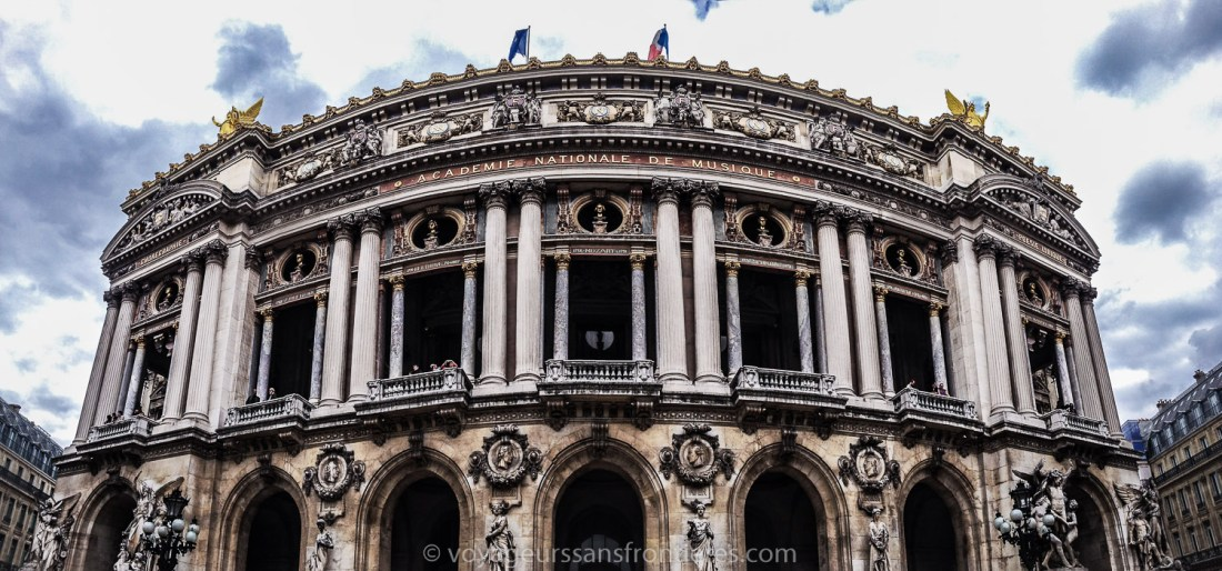 The Opéra Garnier - Paris, France