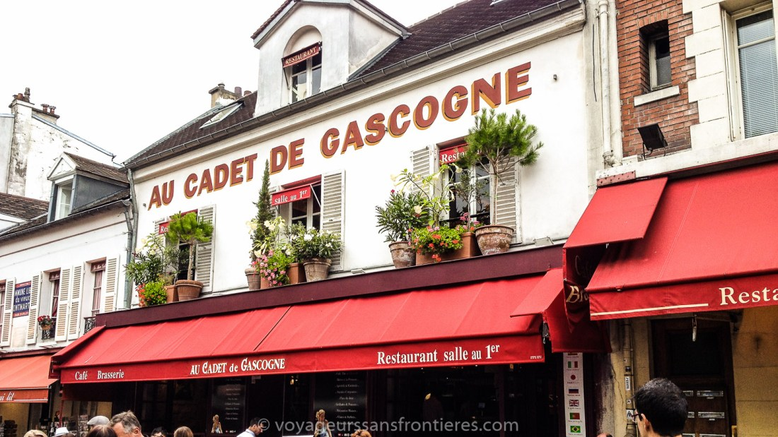 """""""Au Cadet de Gascogne"""" in Montmartre - Paris, France"""