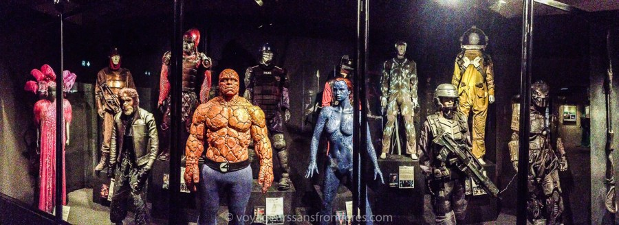 Movie costumes at the Musée Miniature et Cinéma - Lyon, France