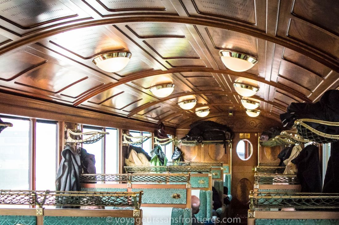 Inside the Train du Fromage (Cheese train) - Fribourg Canton, Switzerland