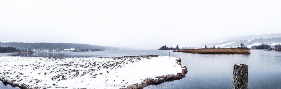 The lac de Joux - Vallée de Joux, Switzerland